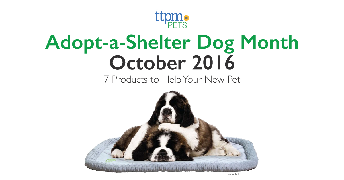 Adopt-a-Shelter Dog Month 2016: 7 Products to Help Your New Pet