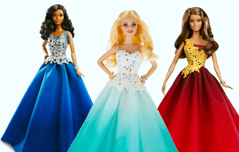 2016 Holiday Celebration Barbie
