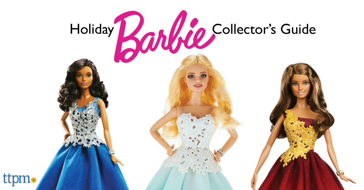 The History of Holiday Barbie