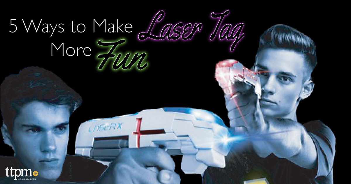 5 Ways to Make Laser Tag More Fun!