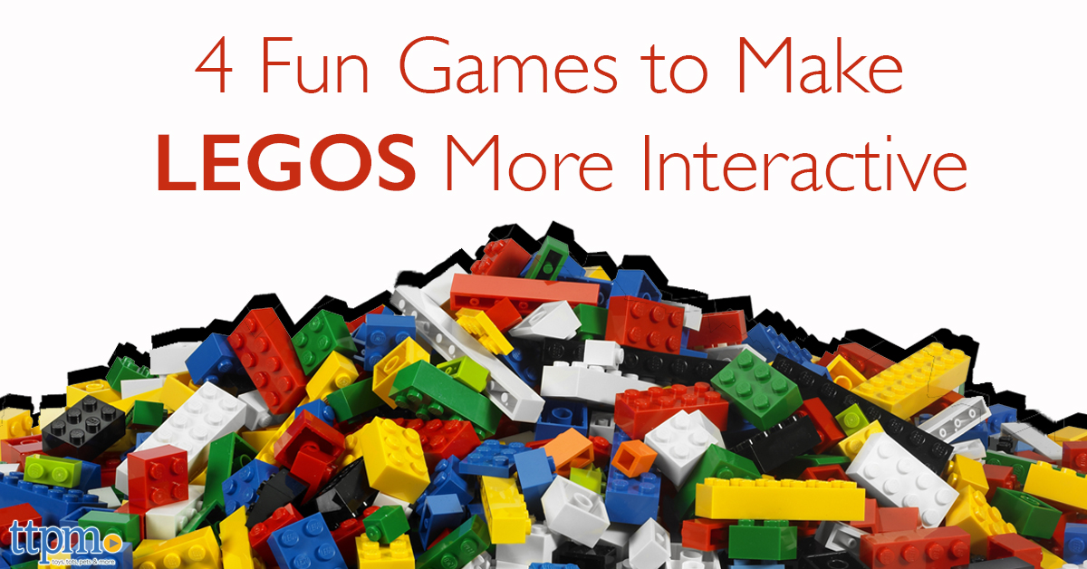 4 Fun Games to Make Lego More Interactive