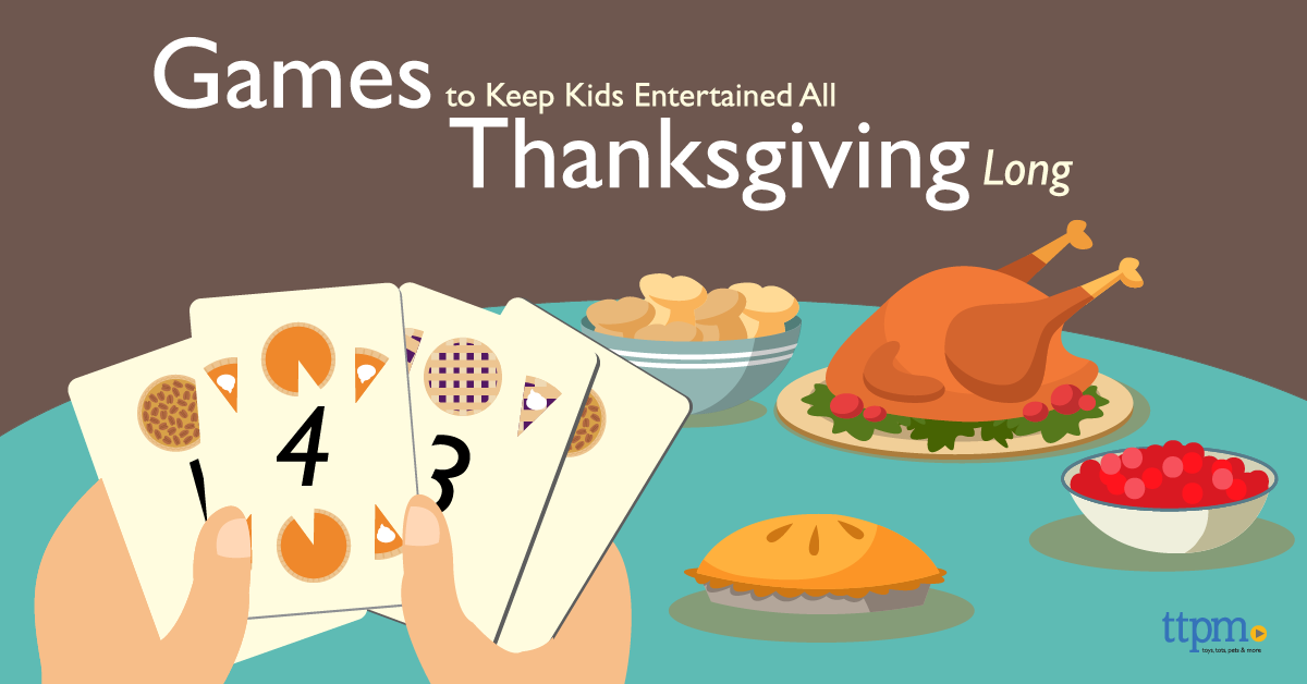 Games To Keep Kids Entertained All Thanksgiving Long