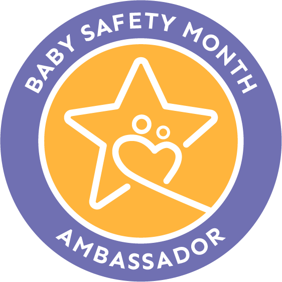Baby Safety Month Ambassador Logo