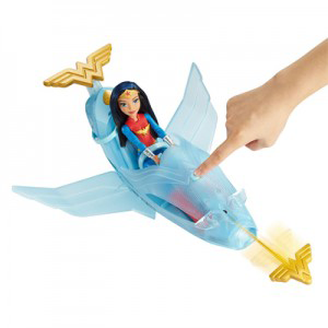 Wonder Woman + Invisible Jet