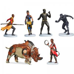 Black Panther Figurine Set