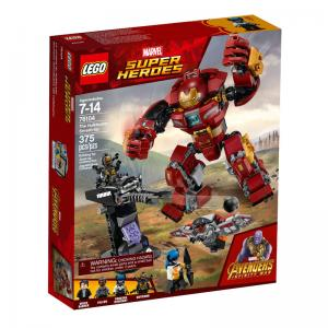 LEGO Avengers: Infinity War The Hulkbuster Smash-Up and Outrider Dropship Attack
