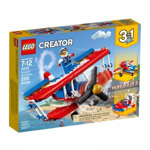 LEGO Creator Daredevil Stunt Plane, Outback Adventures, and Rocket Rally Car