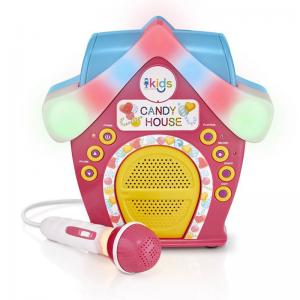Kids Candy House Portable Bluetooth Sing-Along Speaker