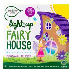 Creative Roots Light-Up Fairy House