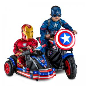 Marvel Avengers Assemble Captain America Cycle & Side Car Ride-On