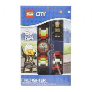 LEGO City Firefighter and Police Officer Buildable Watches