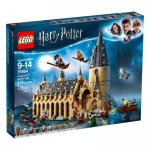 LEGO Harry Potter Hogwarts Great Hall and Aragog's Lair