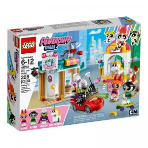 LEGO The Powerpuff Girls Mojo Jojo Strikes and Bubbles' Playground Showdown