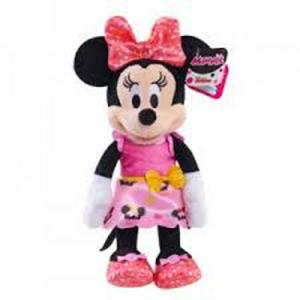 Minnie, Minnie Super Sweet Helper, Minnie Pop Star, and Daisy Plushes