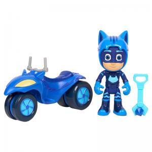 PJ Masks Super Moon Adventure Catboy, Gekko, and Owlette Moon Rovers