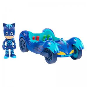 PJ Masks Cat-Car, Owl Glider, and Gekko-Mobile