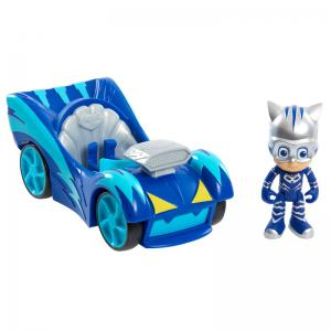 PJ Masks Speed Booster Cat-Car, Owl Glider, and Gekko-Mobile