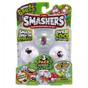 Smashers Series 2 Gross 3 Pack and 1 Pack