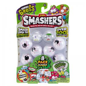 Smashers Series 2 Gross 8 Pack and Puke Pizza Collectors Tin