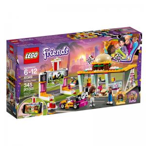 LEGO Friends Drifting Diner and Spinning Brushes Car Wash