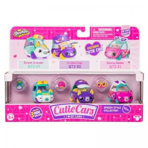 Shopkins Cutie Cars Speedy Style Collection