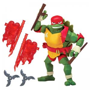 Rise of the Teenage Mutant Ninja Turtles Raphael, Leonardo, Donatello, and Michelangelo Figures