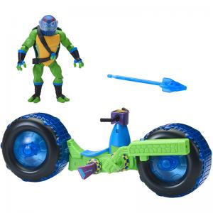 Rise of the Teenage Mutant Ninja Turtles Shell Hog with Leonardo and Shell Hog with Michelangelo