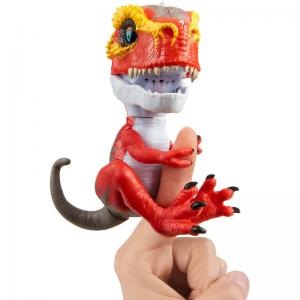Fingerlings Untamed T-Rex Ripsaw, Ironjaw, Scratch, and Tracker