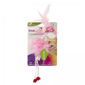 SmartyKat Catnip & Silvervine Flamingo Flop, Fantasy Frenzy, and Pom Player Toys