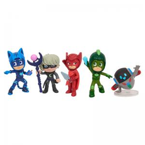 PJ Masks Super Moon Adventure and Power Up Poses Collectible Figure Sets