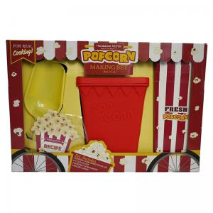 Popcorn Making Set and Adult & Child Apron Set