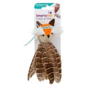 SmartyKat Toss-A-Fox Cat Toy