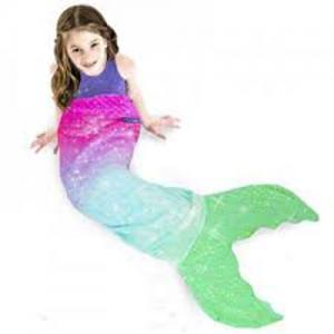 Mermaid and Shark Blankie Tails