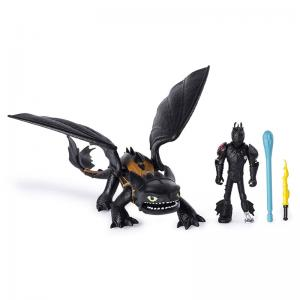 How to Train Your Dragon: The Hidden World Dragon & Rider Sets