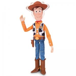 Toy Story 4 Sheriff Woody with Interactive Drop-Down Action
