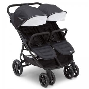 Jeep by Delta Children Destination Side x Side Double Ultralight Stroller