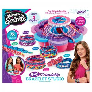 Shimmer n Sparkle 5 in 1 Friendship Bracelet Studio