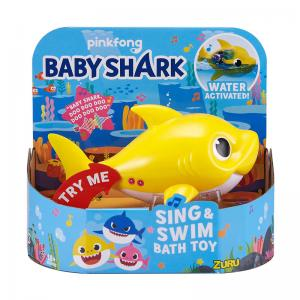 Robo Alive Junior Pinkfong Baby Shark Sing & Swim Bath Toy