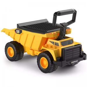 CAT Shovel & Sift Dump Truck and Hasbro Hungry Hippos Foot to Floor Push Riding Toy Ride-Ons