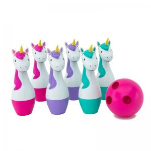 Unicorn Bowling Set