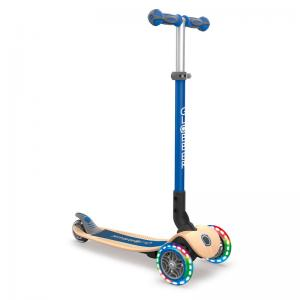 Globber Kids Scooter with Wooden Deck