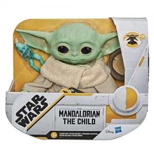 Star Wars The Mandalorian The Child Baby Yoda Talking Plush, Figure, Bounty Collection