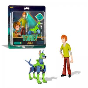 Scoob! Shaggy & Dynomutt and Super Scoob & Dick Dastardly Action Figures