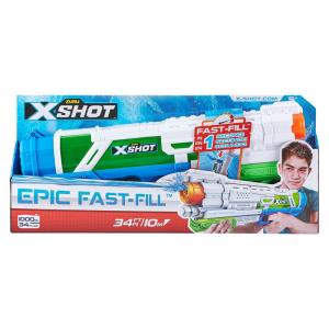 X-Shot Micro and Epic Fast-Fill Water Blasters