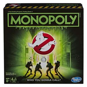 Monopoly: Ghostbusters Edition and To All the Boys I've Loved Before Games