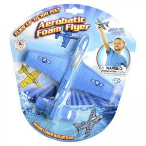 Aerobatic Foam Flyer, SkyScrapers, Pop Rocket, Toy Parachutes and Aero Pull-Back Racers