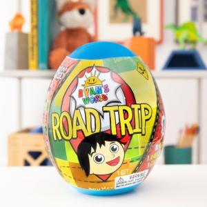 Ryan's World Road Trip Mystery Micro Figures and Mega Micro Egg