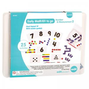 Early Math101 to go Number & Measurement 2 and Geometry & Problem Solving 3
