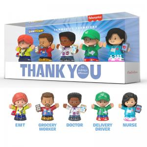 Little People Community Champions and Thank You Heroes Action Figures