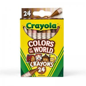 Colors of the World Crayons